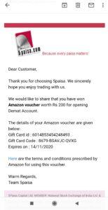 5Paisa offers, 5Paisa Amazon Voucher Offer