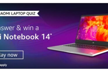 Amazon Xiaomi Laptop Quiz Answers