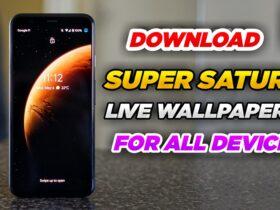 Super Saturn Wallpaper