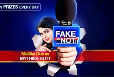 Flipkart Fake or Not Fake answers