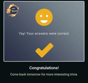 Flipkart daily Trivia answers
