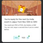 google pay jaipur event