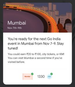 google pay mumbai event