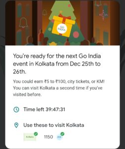 Google pay Kolkata event