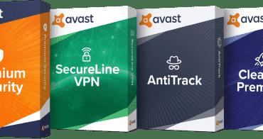 Avast Antivirus Free, Avast Premium Vpn