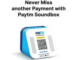 PayTM Soundbox For Free